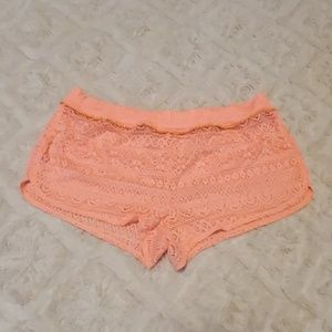 VS bathing suit shorts cover up